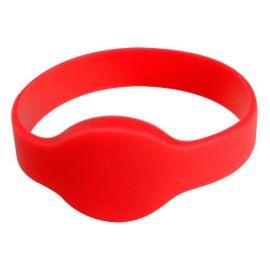 ACS rfid WRISTBAND 1KHz, OTR999R rood / red ( per 10 stk)-BYPOS-1710-2