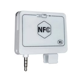 ACR35 NFC MobileMate Card Reader, ◦Supports ISO 14443 Part 4 Type A and B cards color: Whit-ACR35-A1ACSA0104