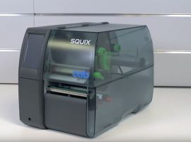 CAB SQUIX 4 LabelPrinter with the fast processor